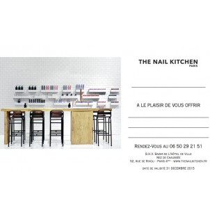 Bon Cadeau The Nail Kitchen